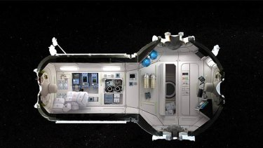 Commercial space station.