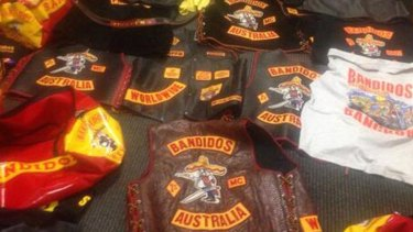 Bandidos bikie gang colours have been handed in