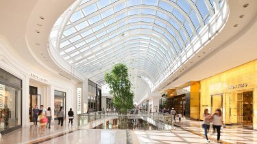 Retail appeal: Chadstone Shopping Centre led Australia in turnover.