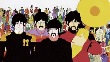 Meeting the 1960s market for love songs: the Beatles wrote and sang a lot of songs about the topic.