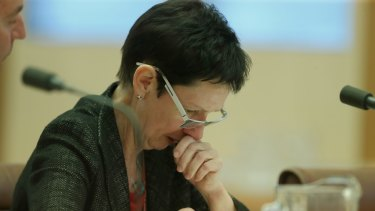 Former Department of Parliamentary Services secretary Carol Mills appeared before the committee on Wednesday.