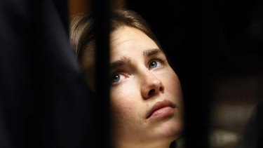 Appeal ... Amanda Knox was jailed for 26 years.