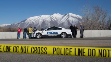 Police are investigating why Lynn Groesbeck's vehicle crashed into the frigid Spanish Fork River in Utah.