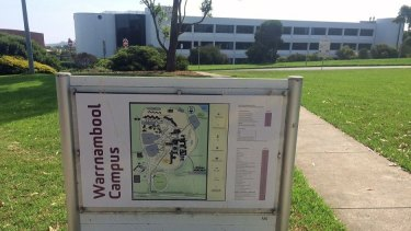 Deakin University's Warrnambool campus is under threat, one of a number of regional campuses now struggling.