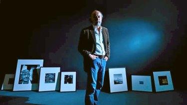 Artist Bill Henson at the Monash Gallery of Art.