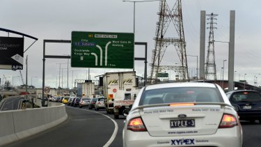 Transurban's net profit after significant items grew 34 per cent.