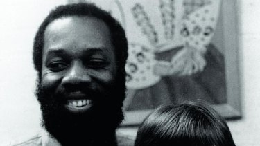Monty and Stephanie at the opening of Jamaica House in 1966.