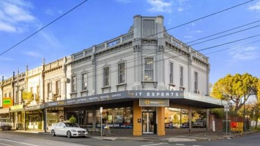 Historic buildings at 780-782 Burke Road Camberwell could be redeveloped after being sold this week.