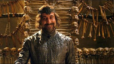 Stanley Tucci hates making 3D films like <i>Jack the Giant Slayer</i>, where he stars as Roderick.