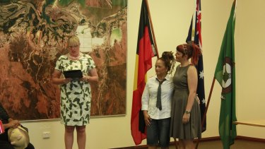 Town of Port Hedland mayor Kelly Howlett said she was proud to officiate the ceremony.