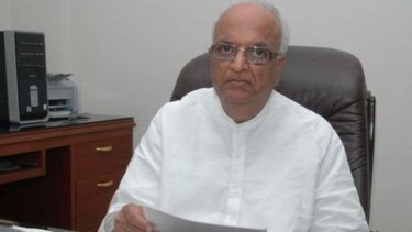Denying involvement: India's former coal minister Santosh Bagrodia.