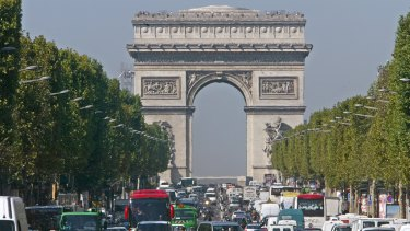 Paris had the biggest outflow of millionaires, with 7000 leaving last year.