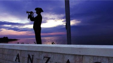 A diversion from the truths ... the myths surrounding Anzac Day.