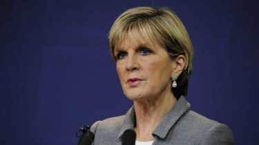 Pushing direct action: Foreign Minister Julie Bishop will attend a UN climate change summit next week.