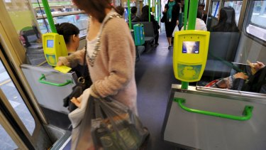 Touching off: Myki is still a source of frustration for Melbourne commuters.