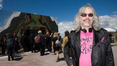 Subversive ... David Walsh outside his $150 million Museum of Old and New Art.
