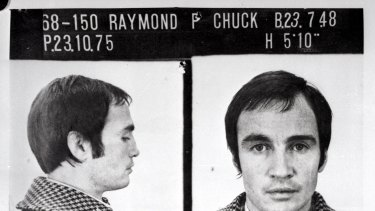 """Raymond """"The General"""" Bennett, aka Raymond Chuck. Brian Murphy has often been linked to Bennett's 1979 shooting death at the Melbourne Magistrates Court."""