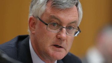 Treasury secretary Martin Parkinson during Senate estimates in November.