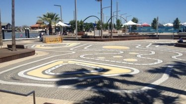The Elizabeth Quay waterpark has been plagued by bacteria problems.