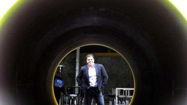 CEO of Dial A Dump Industries, Ian Malouf.
