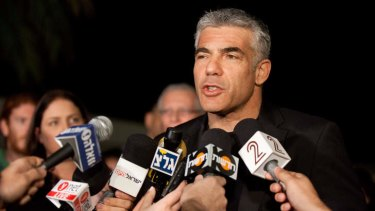 Rising star ... Yair Lapid, leader of the Yesh Atid party. The Israeli actor, journalist, author, former TV presenter and news anchor won 19 of 120 parliamentary seats and is expected to form a coalition government with incumbent prime minister Binyamin Netanyahu.