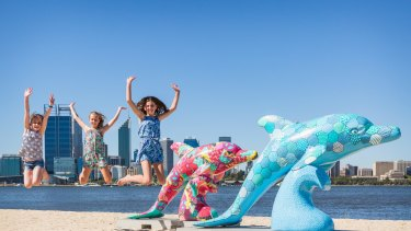 The Big Splash seeks to raise awareness of children's mental health issues.
