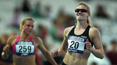 Canberra's Melissa Breen was 0.02 seconds from an Olympic qualifying time.