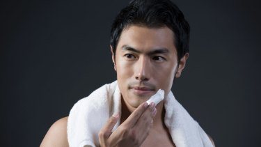 The new trend of male grooming, dubbed 'menasissance', is also seeing a growth in that sector for skin care and hair products.