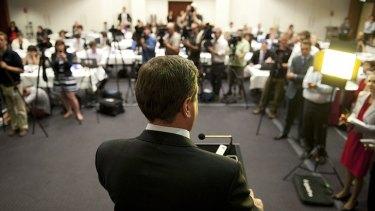 Queensland Treasurer Tim Nicholls outlines the 2012-13 state budget.