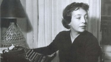 <i>The Lover's</i> lover: Marguerite Duras as a young woman.