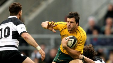 Man of the match Adam Ashley-Cooper.