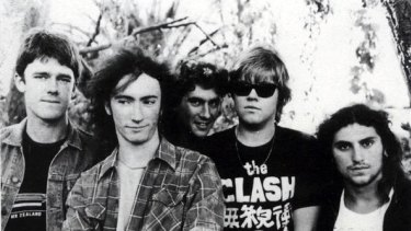 Before Nasser Sultan was a music tour promoter and a MAFS contestant, he was drummer (far right) for Sydney band The Vultees in the mid '80s.