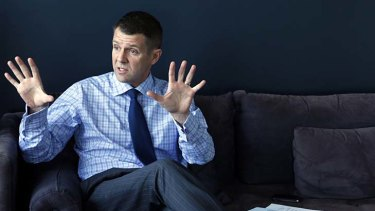 Mike Baird ... the government has ''inherited a mess''.