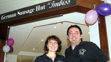 German Sausage Hut owners Monica and Richard Windt.