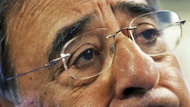 Focus ... the Defence Secretary, Leon Panetta.