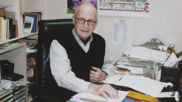 Australian missionary John Short in Hong Kong before his arrest in North Korea.