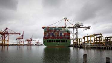 For sale? The Port of Melbourne could net $2.4 billion.