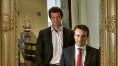 Flexible approach: Andrew Mellett (left) and Andrew Meagher are challenging the traditional legal industry 'duopoly'.