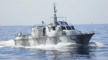 The Indonesian Navy's KRI Mulga.