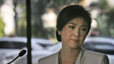 Under pressure: Thailand's Prime Minister Yingluck Shinawatra has announced new elections but has not resigned.