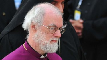 The Archbishop of Canterbury Rowan Douglas Williams ... urged the British Prime Minister to drop opposition to a Europe-wide tax on financial transactions.