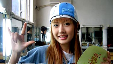 China's unattainable beauty ideal ... Wang Bei gained popularity on the program Super Girl.