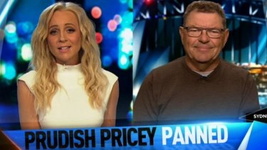 Carrie Bickmore slams Steve Price for his breastfeeding comments on <i>The Project</i>.