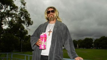 "Chilled out ... Ronald Tucker likes Australia's ""Dudeist lifestyle""."