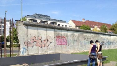 Remnants of the Berlin Wall.