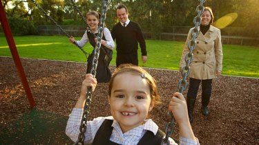 """Middle ground ... the McLean family are """"very settled"""" in Kogarah."""