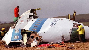 Lockerbie disaster ... 259 people died when a Pan Am jumbo jet was blown up.