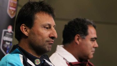 Feeling the Blues: Laurie Daley soon realised the pain shared by recent NSW State of Origin coaches.