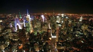 New York City on Tuesday. Photo: Alex Ellinghausen