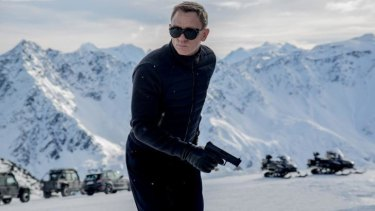 What's in a name: Daniel Craig in Bond No. 24, <i>Spectre</i>.